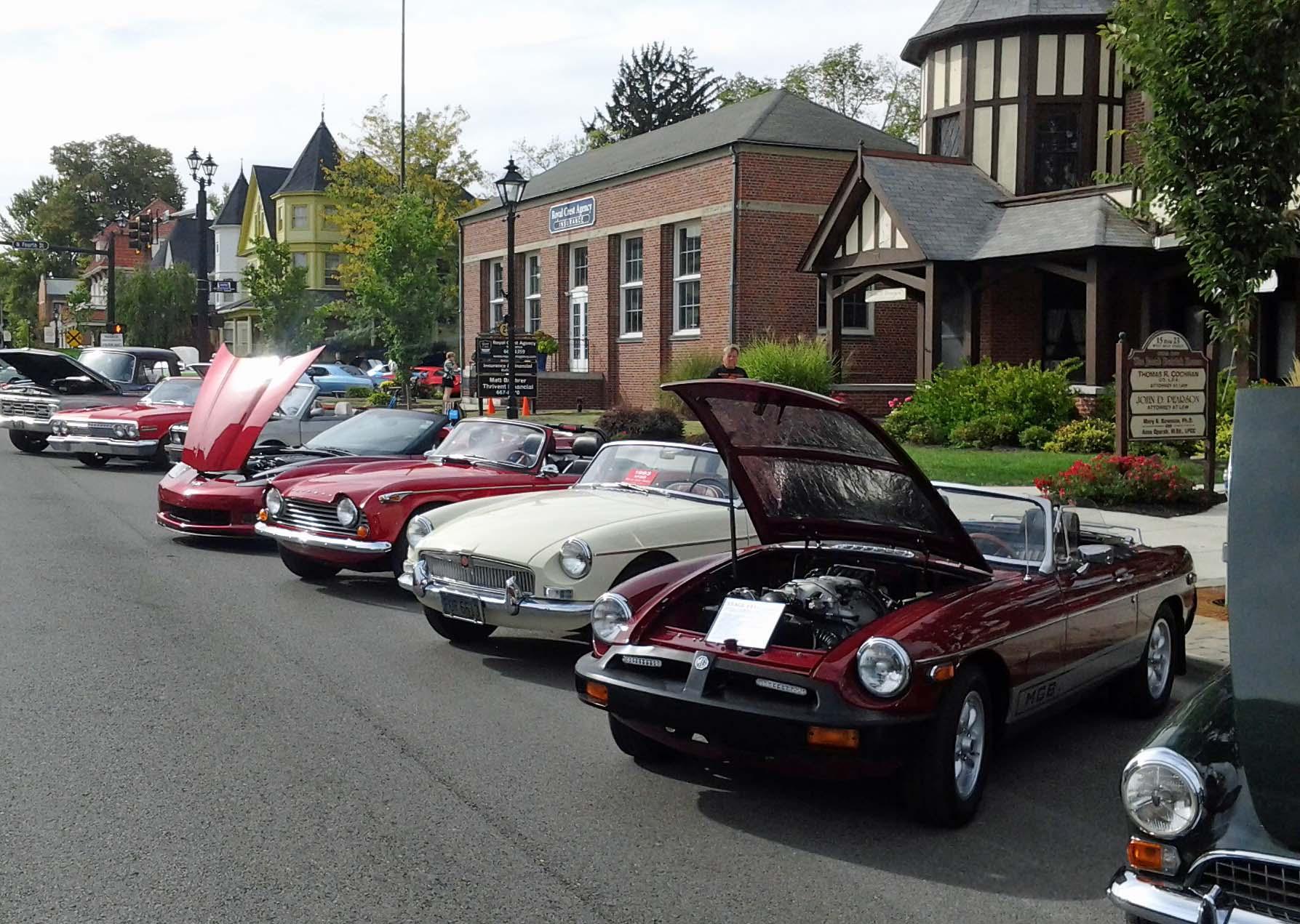 MG Car Club Southwestern Ohio Centre - Mg car show